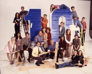Neighbours 10th Anniversary Cast Shot 300 Pix
